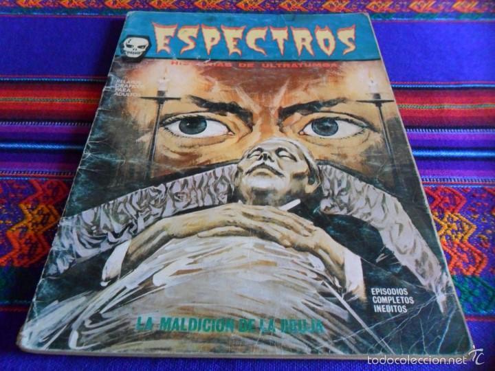 Cómics: VÉRTICE VOL. 1 ESPECTROS 11 12 19 20 24. 1972. 25 PTS. REGALO NºS 1 3 21. DIFÍCILES!!!!! - Foto 2 - 113889900