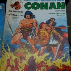 Cómics: CONAN THE BARBARIAN ANUAL'80 EDICIONES VÉRTICE AÑO 1979. Lote 56150692