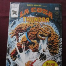 Cómics: SUPER HEROES Nº 121 VOL. 2 LA COSA Y THUNDRA MUNDICOMICS. VERTICE, 1979 TEBENI . Lote 56183096