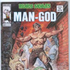 Cómics: RELATOS SALVAJES V.1 Nº 53 MAN-GOD - VERTICE 1974 - ROY THOMAS - TONY DE ZUÑIGA, EARL NOREN. Lote 56216748