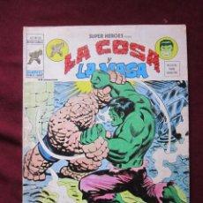 Cómics: SUPER HEROES Nº 50 VOL. 2 LA COSA Y LA MASA ¡LLORA MONSTRUO! VERTICE, 1976 TEBENI . Lote 56220024