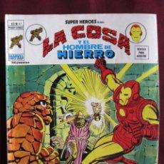 Cómics - SUPER HEROES Nº 47 VOL. 2 La Cosa y El Hombre de Hierro VERTICE, 1976 tebeni Bastante bueno - 56220164