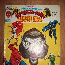 Cómics: SPIDERMAN Y EL HOMBRE LOBO. Nº 4. [ESPECIAL SUPER HÉROES]. Lote 56225380