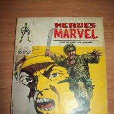 Cómics: HÉROES MARVEL. Nº 11 : CON EL CAPITÁN SAVAGE : HASTA EL ÚLTIMO HOMBRE. Lote 56248534