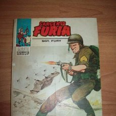 Cómics: SARGENTO FURIA = SGT. FURY. Nº 21 : LA VUELTA DE DINO MANELLI. Lote 56248667