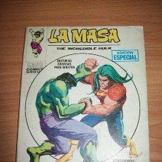 Cómics: LA MASA = THE INCREDIBLE HULK. Nº 19 : SU NOMBRE... SANSÓN. Lote 56248733