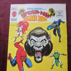 Cómics: SUPER HEROES Nº 7 VOL. 2 SPIDERMAN Y EL HONBRE LOBO VERTICE, 1974 TEBENI COMO NUEVO. Lote 56323491