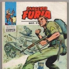 Cómics: SARGENTO FURIA Nº 20 (VERTICE 1973). Lote 56329645