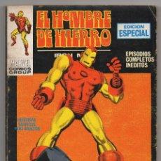 Cómics: HOMBRE DE HIERRO Nº 7 (VERTICE 1970). Lote 56335437