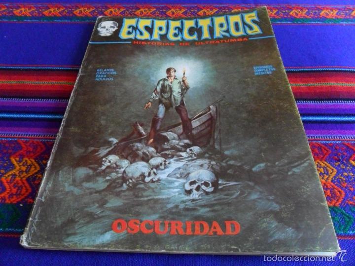 Cómics: VÉRTICE VOL. 1 ESPECTROS 11 12 19 20 24. 1972. 25 PTS. REGALO NºS 1 3 21. DIFÍCILES!!!!! - Foto 3 - 113889900