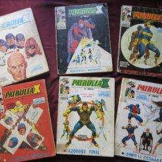 Cómics: LOTE 6 COMICS PATRULLA X VOLUMEN 1 NUMS. 1, 2, 18, 20, 26 Y 32. VERTICE, VOL. 1. TEBENI CON DEFECTOS. Lote 56494112