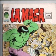Cómics: LA MASA V.2 Nº 3 VERTICE. Lote 56521806