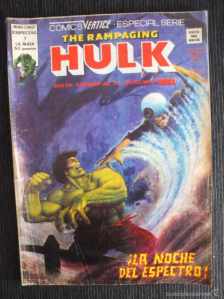 Cómics: THE RAMPAGING HULK Nº 7 MUNDI COMICS EDITORIAL VERTICE - Foto 1 - 56523745