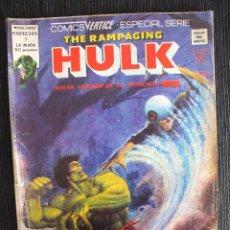 Cómics: THE RAMPAGING HULK Nº 7 MUNDI COMICS EDITORIAL VERTICE. Lote 56523745