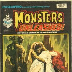 Cómics: ESCALOFRIO 40 - MONSTERS UNLEASHED ! Nº 11 EXCELENTE ESTADO - VÉRTICE 1974. Lote 56539685