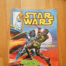 Cómics: STAR WARS, LA GUERRA DE LAS GALAXIAS, ENCUENTRO SOMBRIO. Lote 56607957
