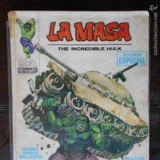 Cómics: LA MASA THE INCREDIBLE HULK - Nº 1 - VERTICE - LEER DESCRIPCION (K2). Lote 56611091
