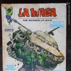 Cómics: LA MASA THE INCREDIBLE HULK - Nº 1 - VERTICE - LEER DESCRIPCION (K2). Lote 56611153