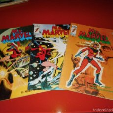 Cómics: MS. MARVEL V. 1 Nº 1 , 2 , 3 , 5 , 6 , 7 , 8 Y 9 MUNDI-COMICS VERTICE . Lote 56702002