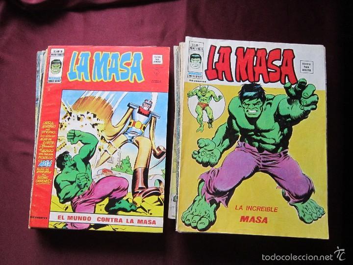LA MASA VOLUMEN 3 SEMI COMPLETA EDITORIAL VERTICE TEBENI (Tebeos y Comics - Vértice - La Masa)