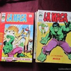 Cómics: LA MASA VOLUMEN 3 SEMI COMPLETA EDITORIAL VERTICE TEBENI. Lote 56706839