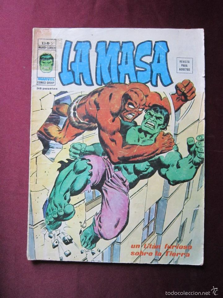 Cómics: La masa Volumen 3 semi completa Editorial Vertice tebeni - Foto 3 - 56706839