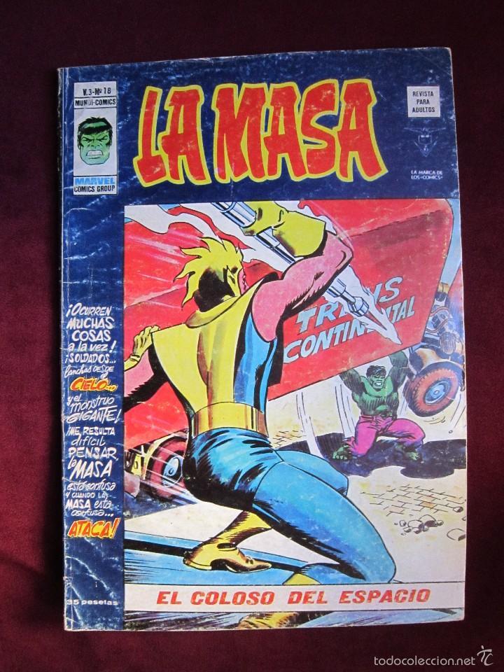 Cómics: La masa Volumen 3 semi completa Editorial Vertice tebeni - Foto 6 - 56706839