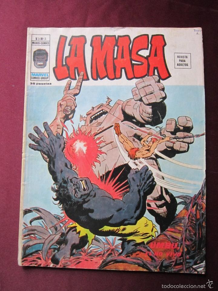 Cómics: La masa Volumen 3 semi completa Editorial Vertice tebeni - Foto 7 - 56706839