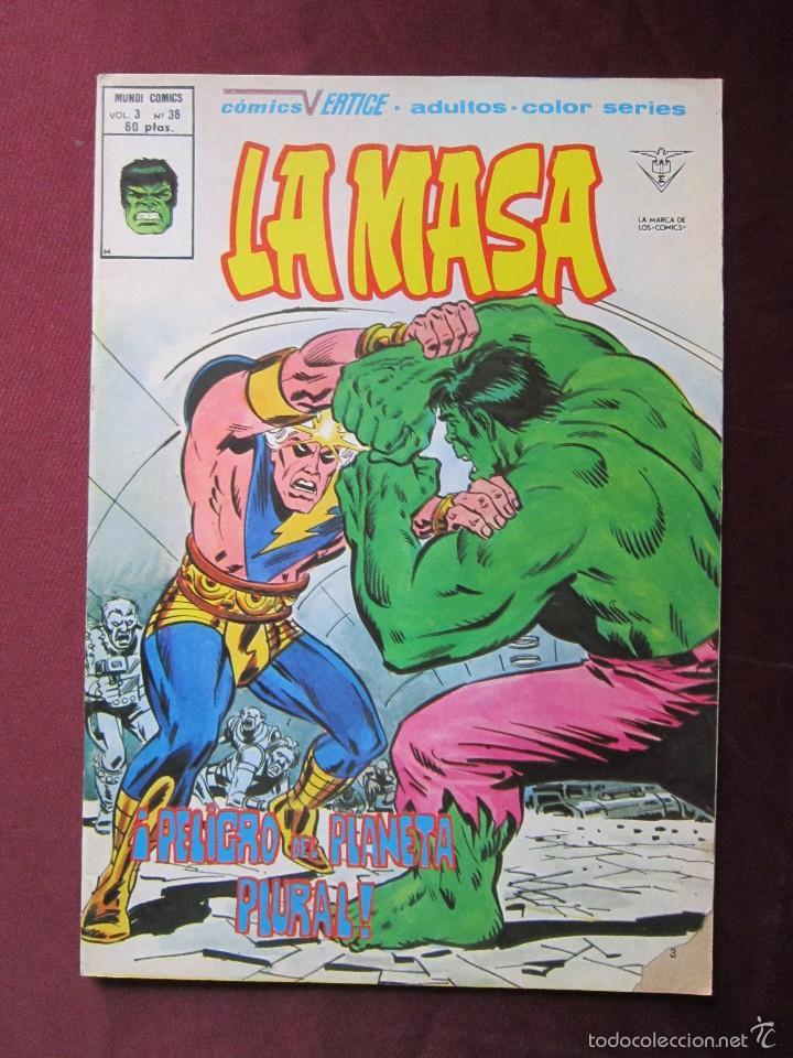 Cómics: La masa Volumen 3 semi completa Editorial Vertice tebeni - Foto 13 - 56706839