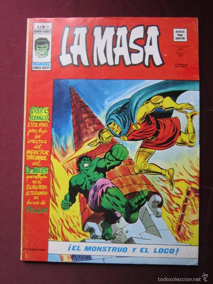 Cómics: La masa Volumen 3 semi completa Editorial Vertice tebeni - Foto 21 - 56706839