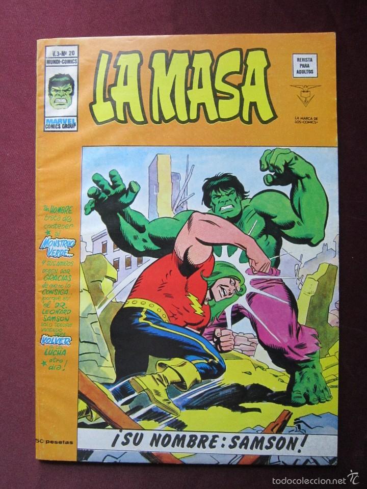 Cómics: La masa Volumen 3 semi completa Editorial Vertice tebeni - Foto 22 - 56706839