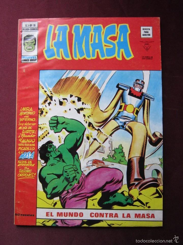 Cómics: La masa Volumen 3 semi completa Editorial Vertice tebeni - Foto 23 - 56706839