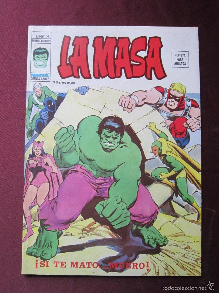 Cómics: La masa Volumen 3 semi completa Editorial Vertice tebeni - Foto 27 - 56706839