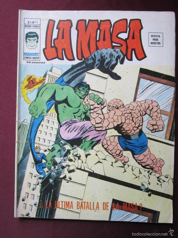 Cómics: La masa Volumen 3 semi completa Editorial Vertice tebeni - Foto 30 - 56706839