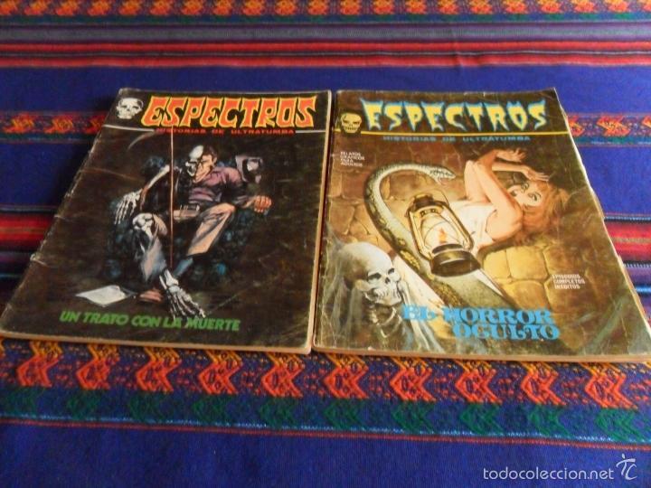 Cómics: VÉRTICE VOL. 1 ESPECTROS 11 12 19 20 24. 1972. 25 PTS. REGALO NºS 1 3 21. DIFÍCILES!!!!! - Foto 4 - 113889900