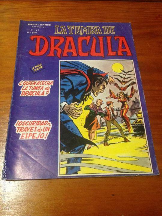 LA TUMBA DE DRACULA VOL 2 V 2 Nº 2. ¿QUIEN ACECHA LA TUMBA DE DRACULA?. VERTICE 1981. TUNET VILA (Tebeos y Comics - Vértice - Terror)