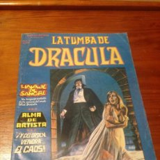 Comics: LA TUMBA DE DRACULA VOL 1 V 1 Nº 3. ALMA DE ARTISTA. VERTICE 1980. TUNET VILA. Lote 56871018