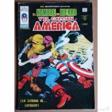 Cómics: EL HOMBRE DE HIERRO Y EL CAPITAN AMERICA Nº 16 / MARVEL / VERTICE / MUNDI COMICS 1979. Lote 53995245