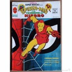 Cómics: ESPECIAL SUPER HEROES PRESENTA Nº 2 / SPIDERMAN Y EL HOMBRE DE HIERRO / MARVEL / VERTICE 1979. Lote 53997097