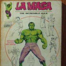 Cómics: LA MASA EDICION GIGANTE VOL.1 DE MARVEL VERTICE EN TACO. Lote 57022431