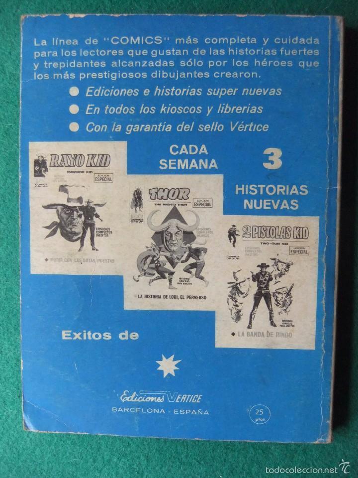 Cómics: CAPITAN AMERICA VOL. 1 Nº 20: EN MANOS DE GORGOLA GRIS - LOPEZ ESPI (VERTICE 1971) - Foto 2 - 57034790