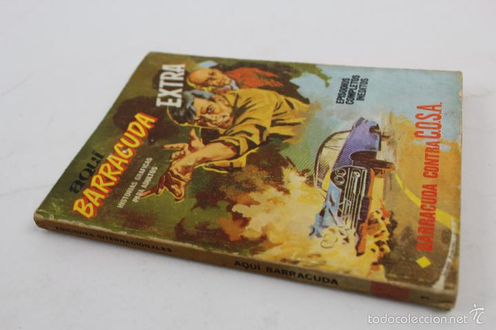 Cómics: L-3862 AQUI BARRACUDA EXTRA. BARRACUDA CONTRA C.O.S.A. ED. VERTICE 1966 - Foto 2 - 57034871