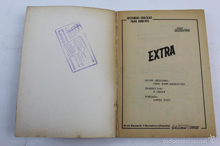 Cómics: L-3862 AQUI BARRACUDA EXTRA. BARRACUDA CONTRA C.O.S.A. ED. VERTICE 1966 - Foto 3 - 57034871