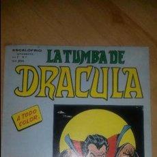 Cómics: LA TUMBA DE DRÁCULA - ESCALOFRIO - VOL.2 - NÚMERO 7 - BUEN ESTADO. Lote 125111314