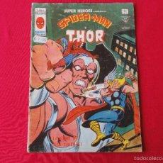 Cómics: SUPER HEROES VOL. 2 Nº. 97. SPIDERMAN Y THOR . C-11.. Lote 57111165