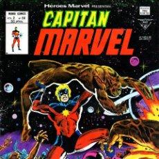 Cómics: VÉRTICE. HÉROES MARVEL V2. VOLUMEN 2 Nº 59. CAPITÁN MARVEL .. Lote 56333456