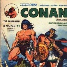 Cómics: CONAN. ANUAL 80. VERTICE.. Lote 57143521