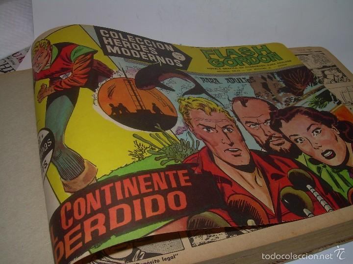 COLECCION COMPLETA ENCUADERNADA DE LA EPOCA.........................DEL Nº 31 AL 60....FLASH GORDON. (Tebeos y Comics - Vértice - Flash Gordon)