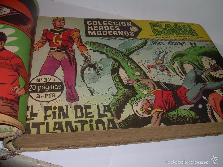Cómics: COLECCION COMPLETA ENCUADERNADA DE LA EPOCA.........................DEL Nº 31 AL 60....FLASH GORDON. - Foto 4 - 57189543