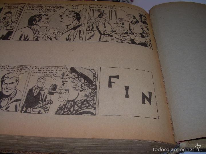 Cómics: COLECCION COMPLETA ENCUADERNADA DE LA EPOCA.........................DEL Nº 31 AL 60....FLASH GORDON. - Foto 8 - 57189543